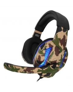 Auricular Con Luces Led Gtc Hsg-518 Ps4 Pc Gamer Gaming